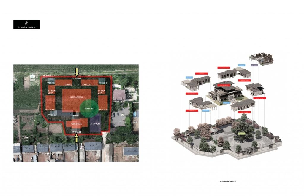 Site & Exploding Diagram 1